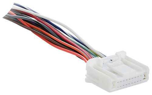 Metra - Turbo Wire OEM Harness for Most 2007 and Later Nissan and 2008 and Later Subaru Vehicles - White