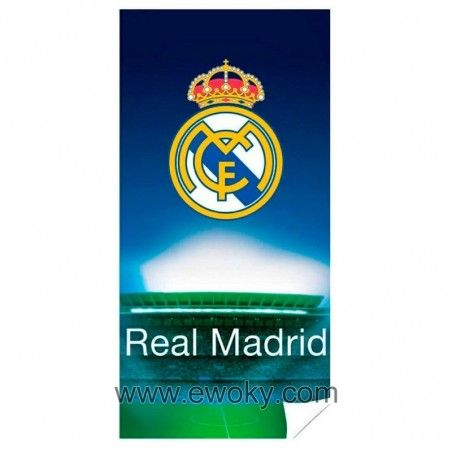 Toalla Real Madrid microfibra 11 0c6edc6bc702f