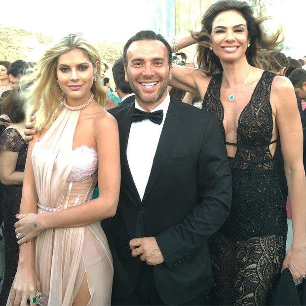 Lala Rudge, Matheus Mazzafera e Luciana Gimenez (Foto: Instagram / Reprodução)