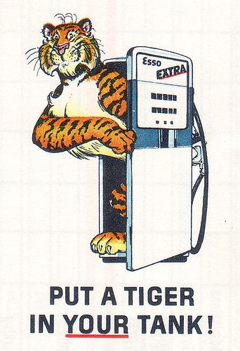 Esso- Put a tiger in your tank