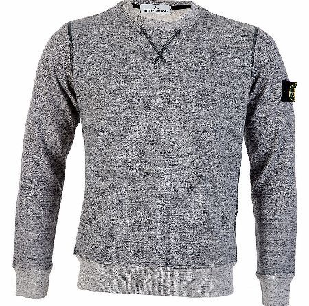 Stone Island Melange Grey Sweatshirt Stone Island Melange Grey Sweatshirt is a casual piece that is defined by its simple design and comfort level featuring cuffed sleeves and a round neck with contrast stitching on the rim of outlines.  http://www.comparestoreprices.co.uk/designer-sweatshirts/stone-island-melange-grey-sweatshirt.asp