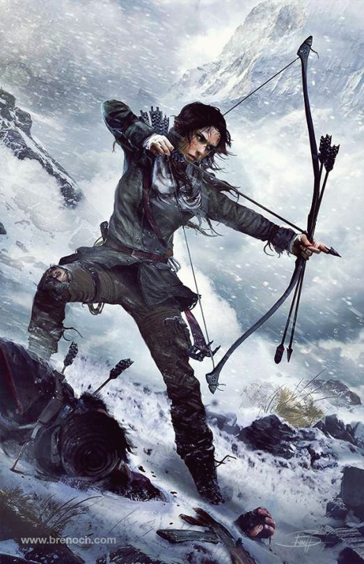 New artwork of Rise of the Tomb Raider by Brenoch Adams , Art Director of Rise of the Tomb Raider