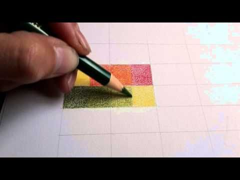 Making a colour chart - Faber Castell Polychromos (HOW TO ...