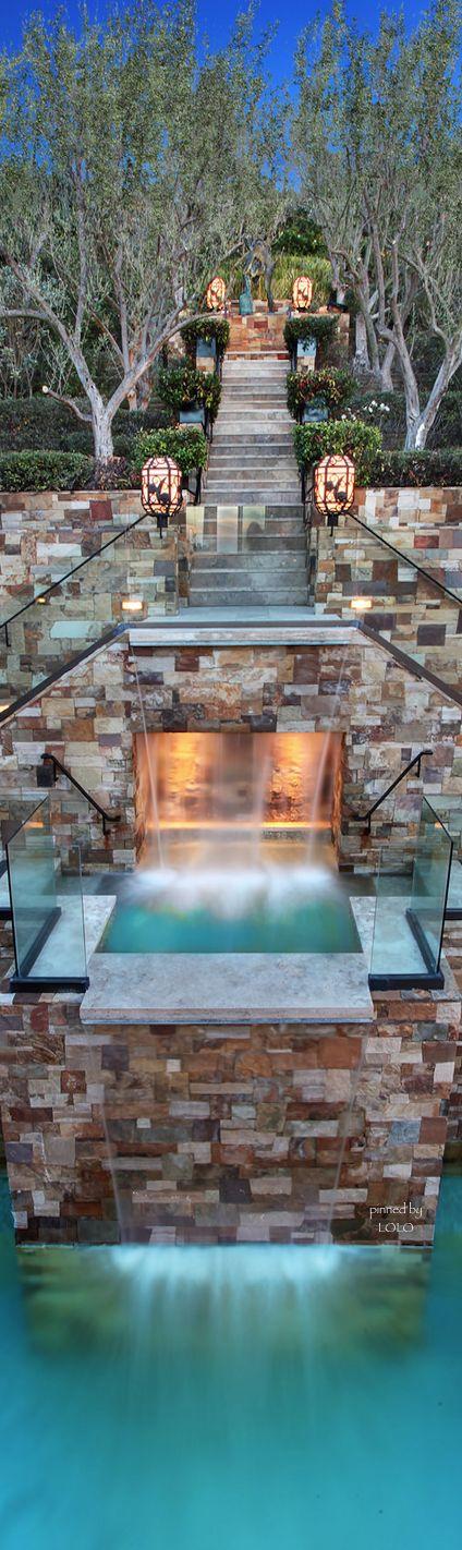 My luxury home:  photo by John Stranaland | pool landscaping
