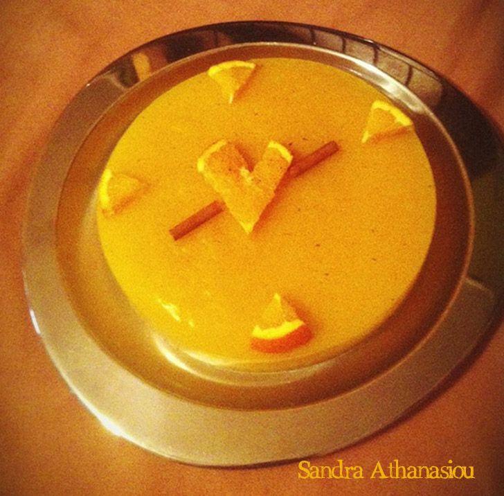 Πορτοκαλόπιτα με κρέμα - Dairy Free