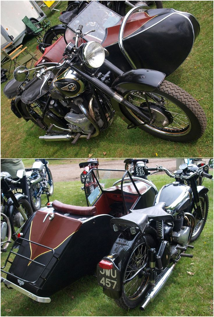 1950 BSA Golden Flash Motorbike & Sidecar