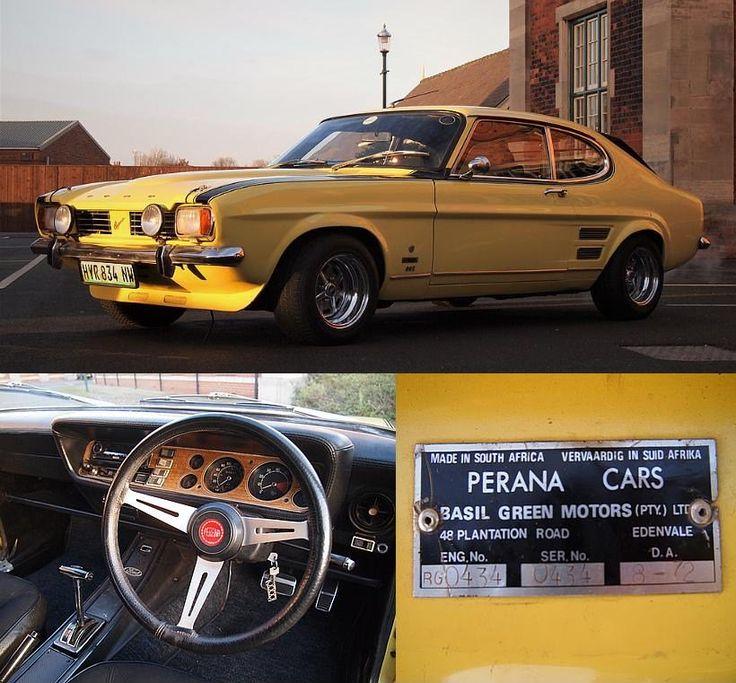 FORD CAPRI Perana V8 1972