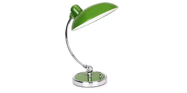 Christian Dell Kaiser Idell Table Lamp metal green - Jern - Grønn
