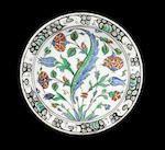 Bonhams : An Iznik pottery Dish Turkey, first half of 17th Century