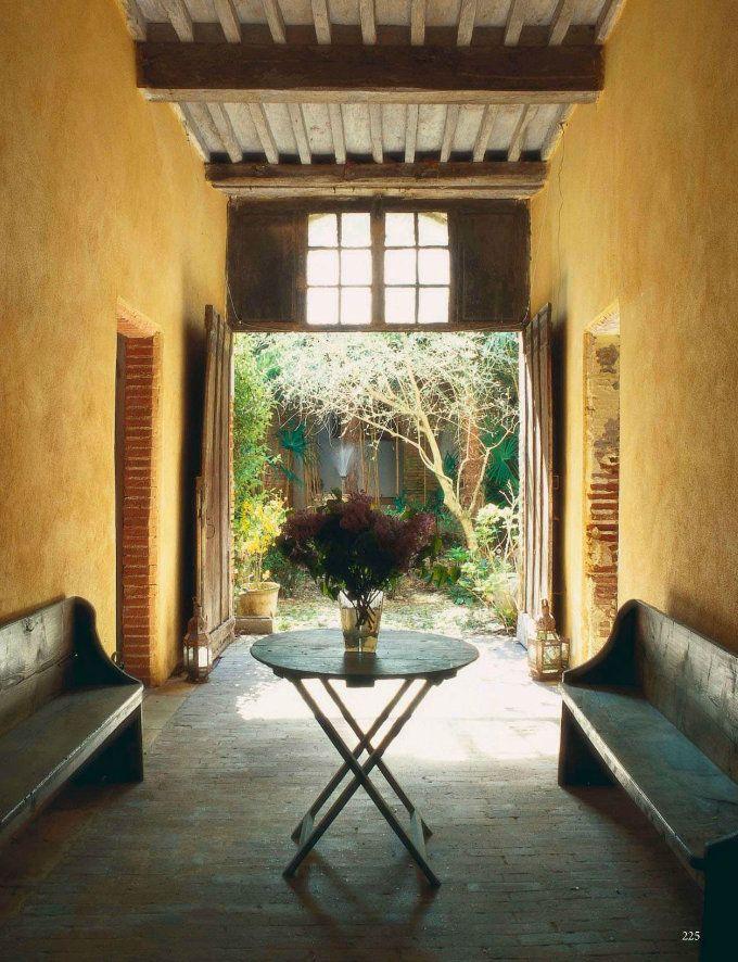 Mediterranean Style Decor Outdoor Room