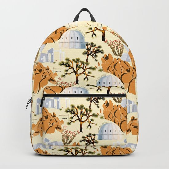 Joshua Tree Backpack by Fifikoussout on #Society6 #backpack #Society6backpack