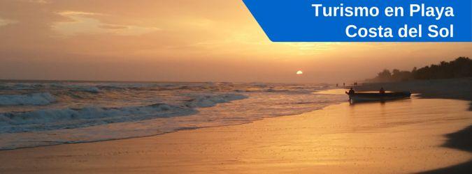 Atractivos turísticos y lugares a visitar en la Playa Costa del Sol, La Paz, El Salvador. Hoteles en Playa Costa del Sol, El Salvador.