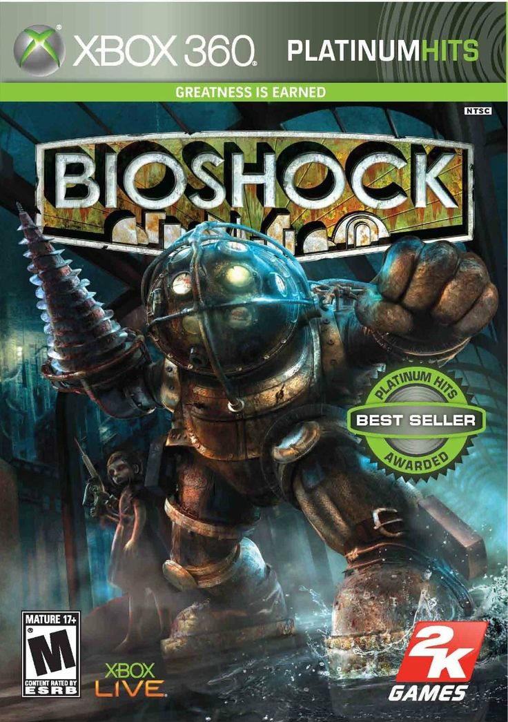 Bioshock for the Xbox 360.
