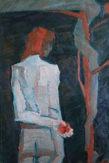 "Saatchi Art Artist Svetlana Shebarshina; Painting, ""Temptation"" #art"