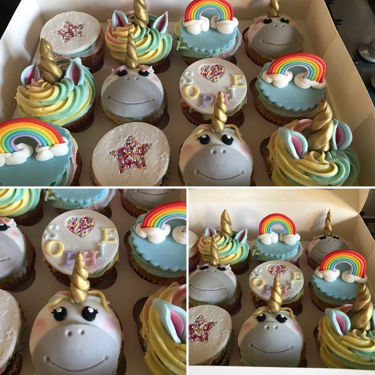 Unicorn cupcakes 🦄