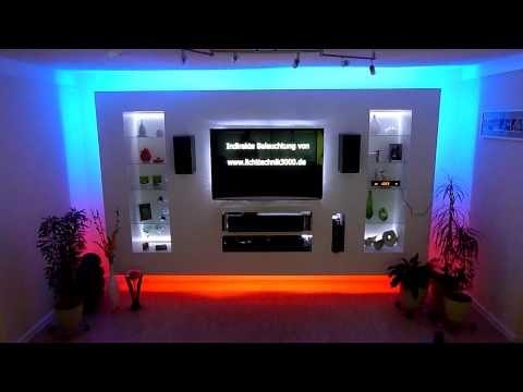 build a TV LED Wall - YouTube