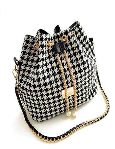 White Drawstring Closure PU Leather Medium Fabulous Hobo Bag For Women by: milanoo