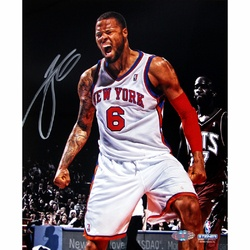SOLD - Tyson Chandler Signed Emotion Vertical 8x10 Photo