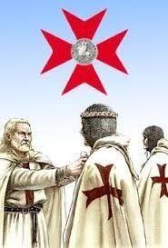 Esta es una representación de las cruzadas en aquel tiempo.