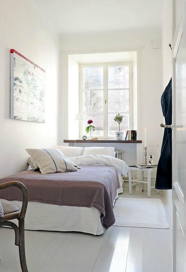 17 beste idee n over kleine slaapkamers op pinterest kleine slaapkamer organisatie kleine - Slaapkamer klein gebied ...