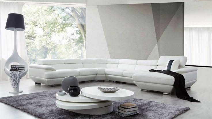 Lexington Leather Modular Lounge Option A - Lounge Life