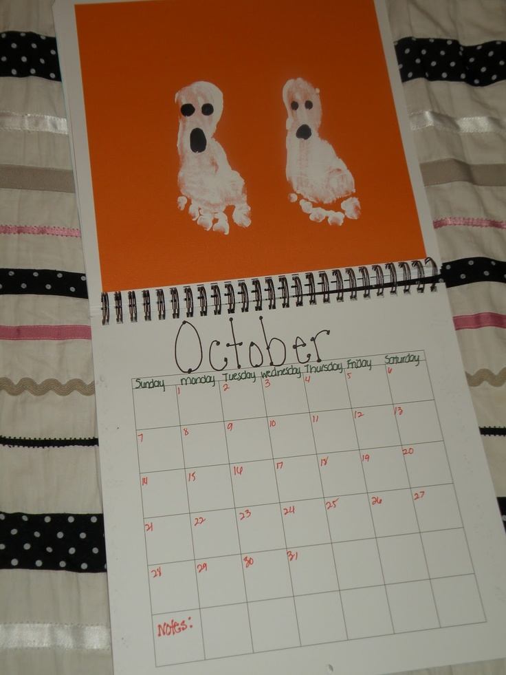 Calendar Kids Craft : Best handprint and footprint calendar images on