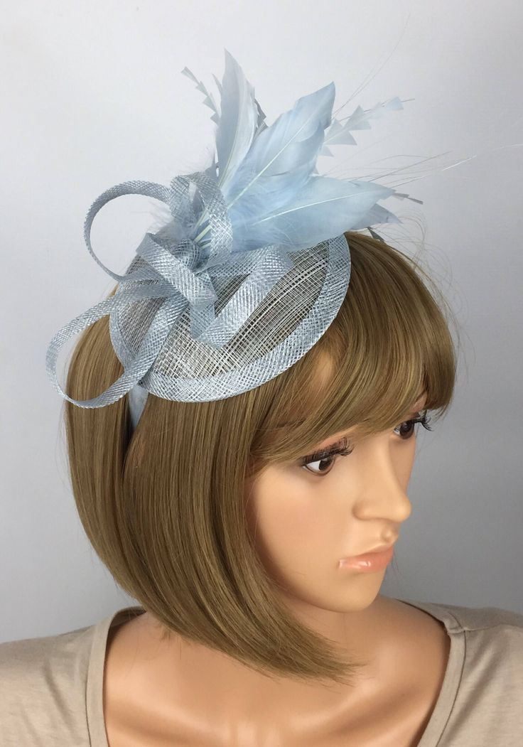 A personal favourite from my Etsy shop https://www.etsy.com/uk/listing/552259637/pale-blue-fascinator-on-headband-wedding