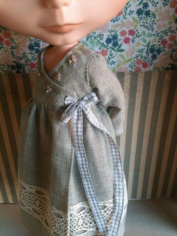 Cache Coeur Dress set for Blythelilac par moshimoshistudio sur Etsy