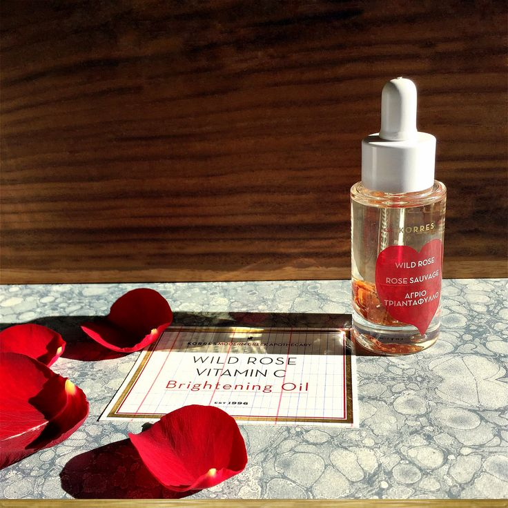 #korres20 Wild Rose Face Oil
