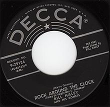 Not the first rock and roll record, nor the first successful record of the genre, Haley's recording nevertheless became an anthem for rebellious Fifties youth and is widely considered to be the song that, more than any other, brought rock and roll into mainstream culture around the world. The song is ranked No. 158 on the Rolling Stone magazine's list of The 500 Greatest Songs of All Time.