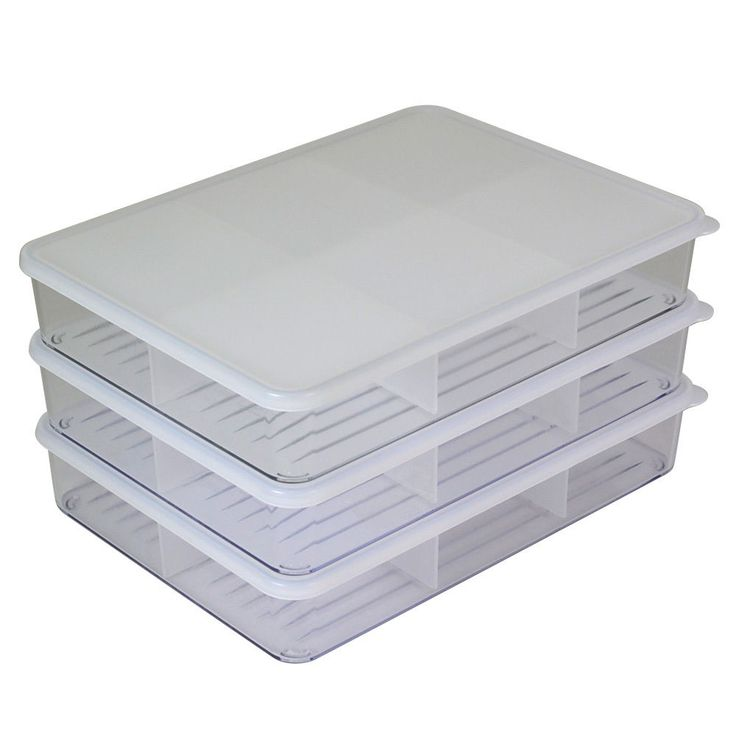 [ Silicook ]A set of 3 Fridge Food storage containers Silicon Lid(XL Flat)