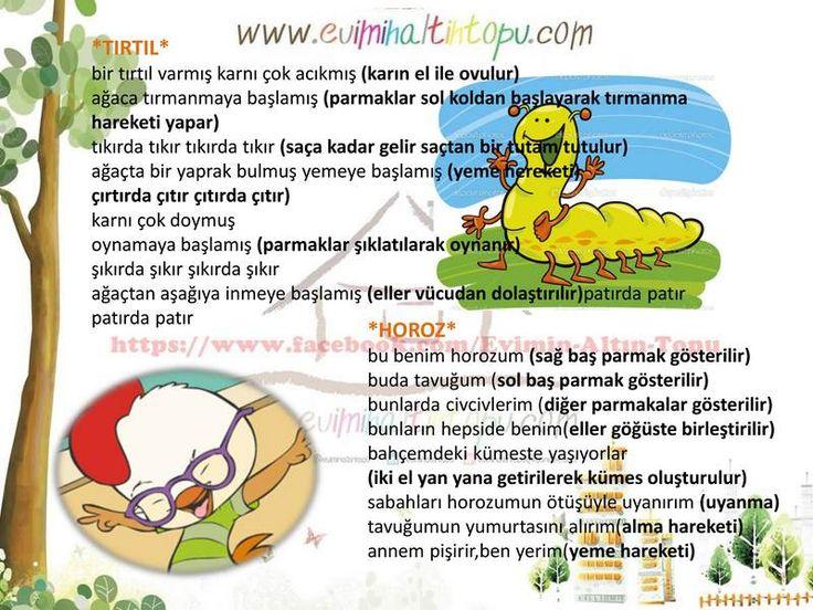 okul öncesi türkçe dil etkinlikleri