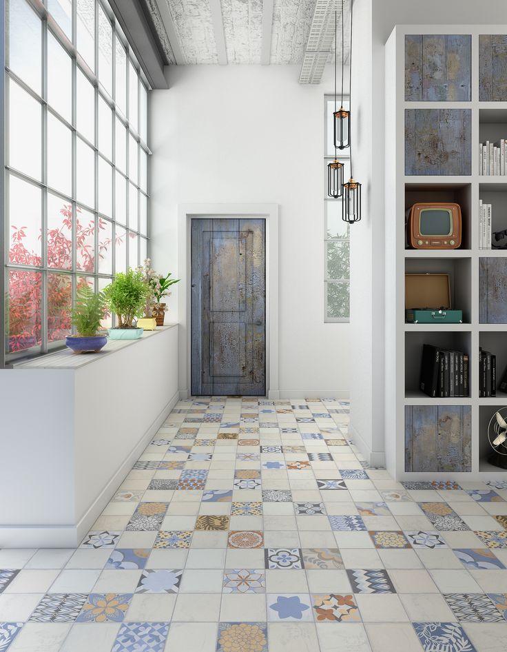 M s de 25 ideas incre bles sobre piso mosaico en pinterest for Cocinas con mosaico