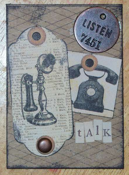 Tina Scraps's Gallery: Vintage phone