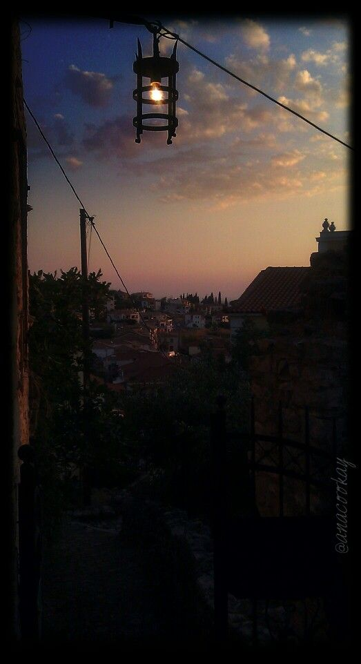 #Kyparissia_old_town #sunset