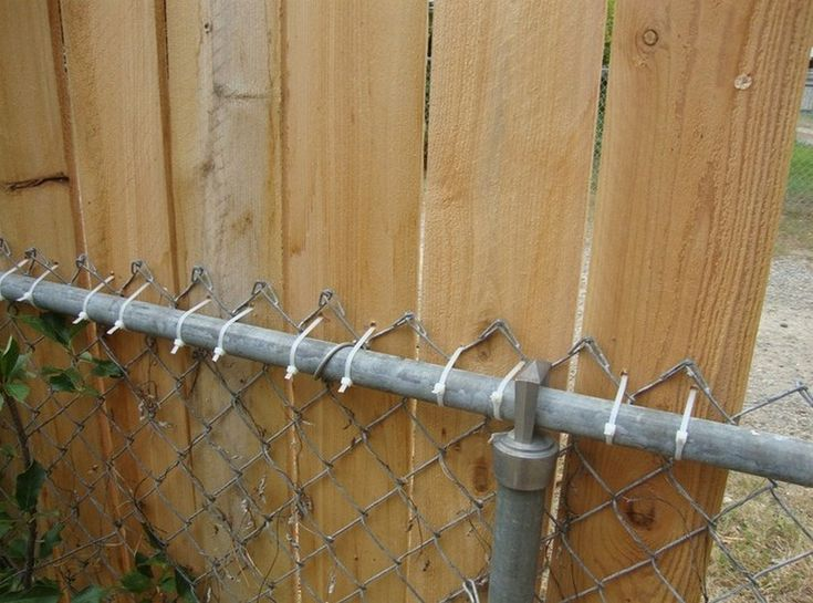Best ideas about chain link fencing on pinterest