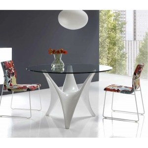 MESA BETTY   BETTY TABLE   #dinningroom #table #crystaltable #comedor #mesa