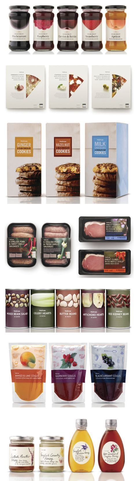 Waitrose UK - Turner Duckworth. Awesome #privatelabel #packaging system PD