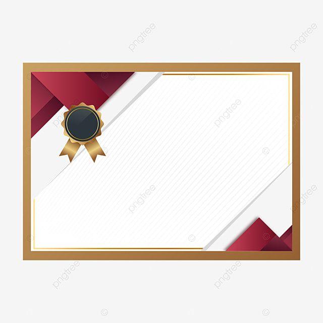 شهادة شرف للمؤسسة الفردية شرف شهادة شخصي Png والمتجهات للتحميل مجانا Certificate Design Template Certificate Background Certificate Design