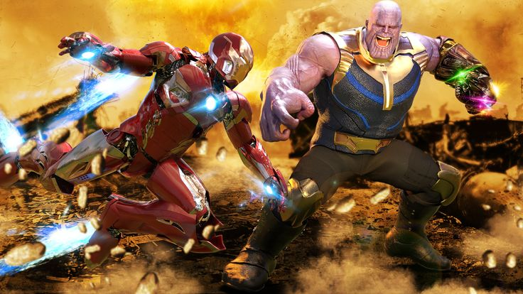 Iron Man Vs Thanos 4k Thanos Wallpapers Superheroes Wallpapers Iron Man Wallpapers Hd Wallpapers Digit Iron Man Wallpaper Iron Man Artwork Iron Man Cartoon