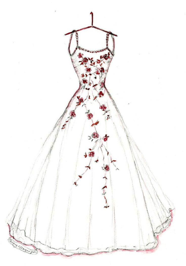 The 25 Best Dress Sketches Ideas On Pinterest Fashion
