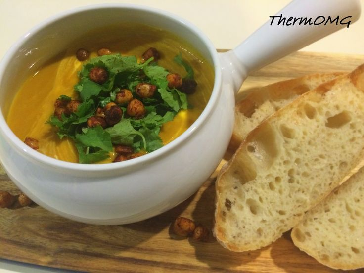 Sweet Potato and Chick Pea Soup - ThermOMG
