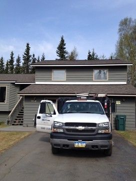 15 best shingle roofs images on pinterest roofing - Exterior house painting anchorage ...