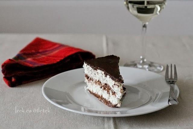 : Mézeskalácsos Túró Rudi torta