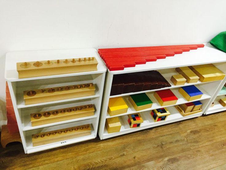 Classroom Shelves Ideas ~ Images about montessori shelves sensorial on