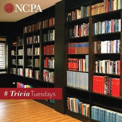 Did you know that the NCPA library's music section houses a number of historic speeches by eminent personalities such as Abraham Lincoln, Winston Churchill and Jawaharlal Nehru! #TriviaTuesdays