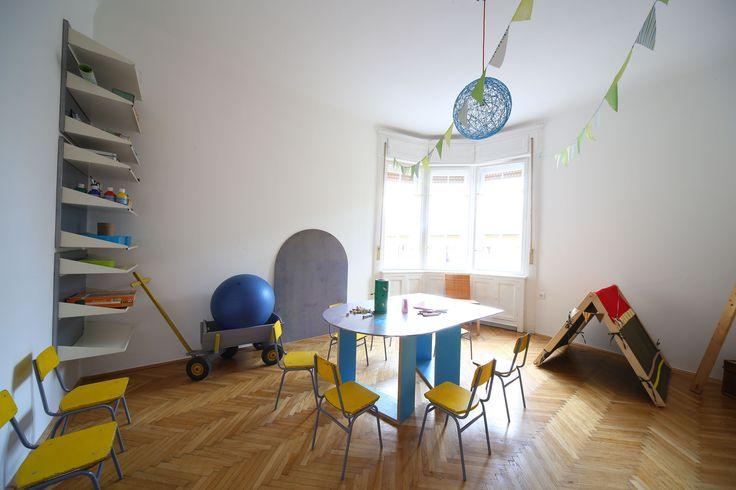 Zoom műhely-  creative workshop studio for kids photo: F. Tóth Gábor