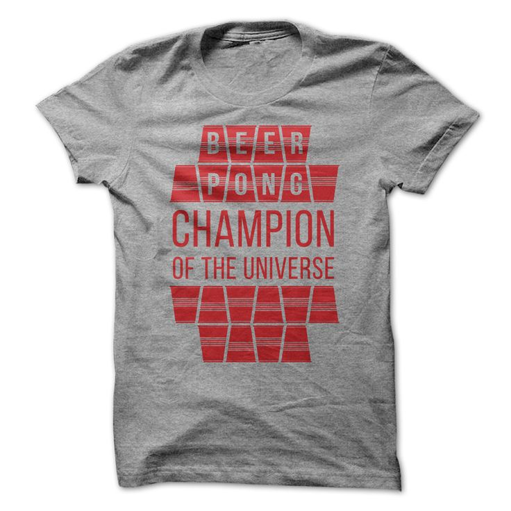 Beer Pong Champion. Funny, Clever Alcohol Drinking Quotes, Sayings, Adult Humour, T-Shirts, Hoodies, Tees, Clothing, Gifts.
