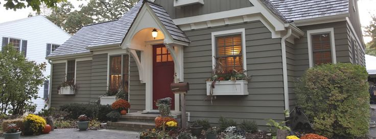 Cement Fiber Siding Small House Exteriors House Paint Exterior House Exterior Color Schemes