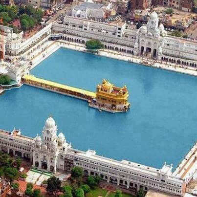 Pool of nectar: Golden Temple. AMRITSAR, INDIA.